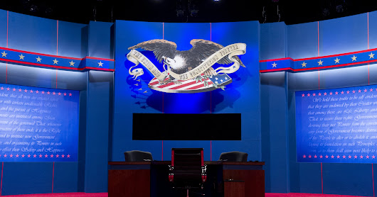 2016 general election debate schedule