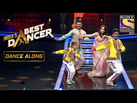 Terence और Nora ने Join किया Special Request पर | India's Best Dancer | Dance Along