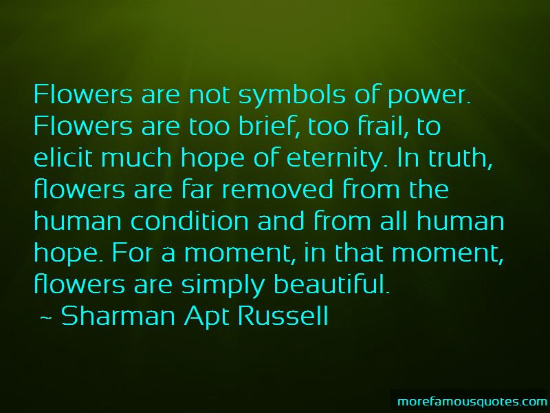Quotes About Hope And Flowers Top 44 Hope And Flowers Quotes From