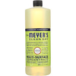 Mrs. Meyer's Multi Surface Concentrate - Lemon Verbena - 32 fl Ounce - PACK OF 6