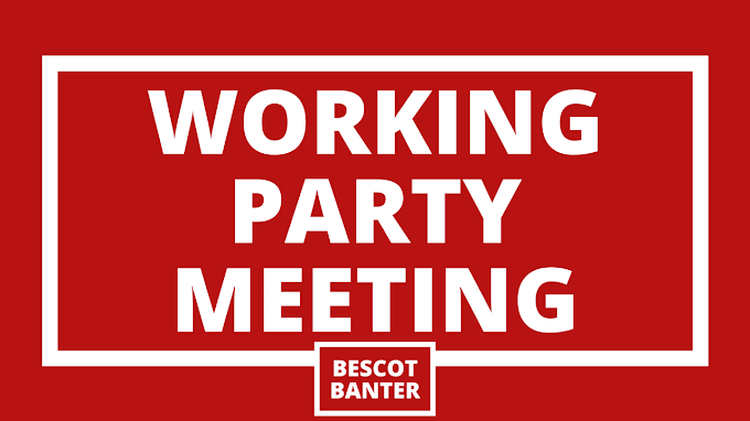 Working Party Meeting: Monday, 8th February 2021