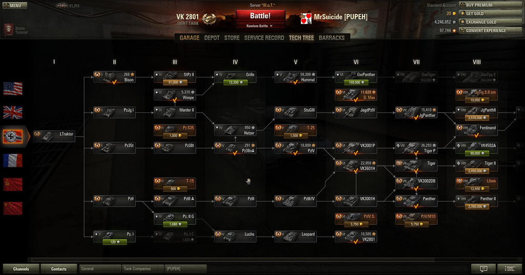 Hello tier 4 Luchs! My have you grown! - Light Tanks - World of Tanks official forum