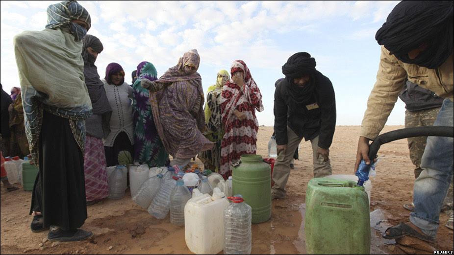 Resultado de imagen de En Fotos: más de treinta años de conflicto en el Sahara Occidental