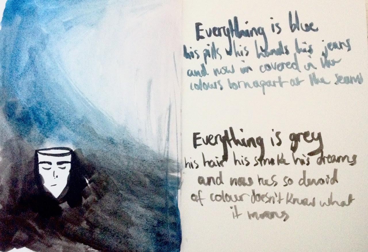 Colors Halsey Lyrics - fondo de pantalla tumblr