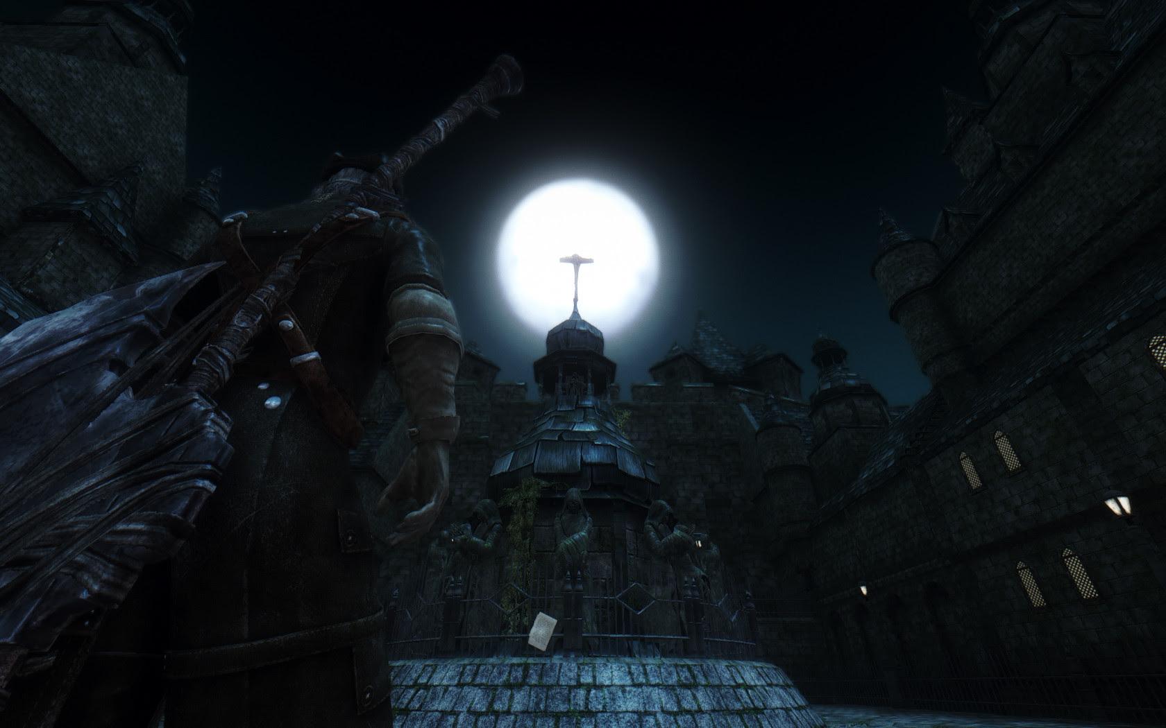 New mod brings Yharnam to Skyrim screenshot