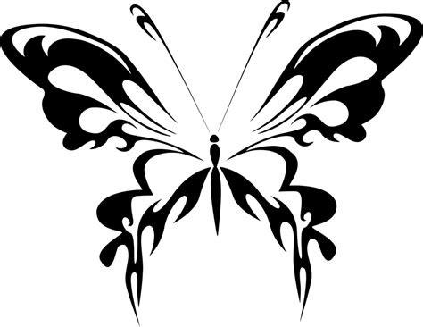 gambar vektor gratis abstrak hewan hitam kupu kupu