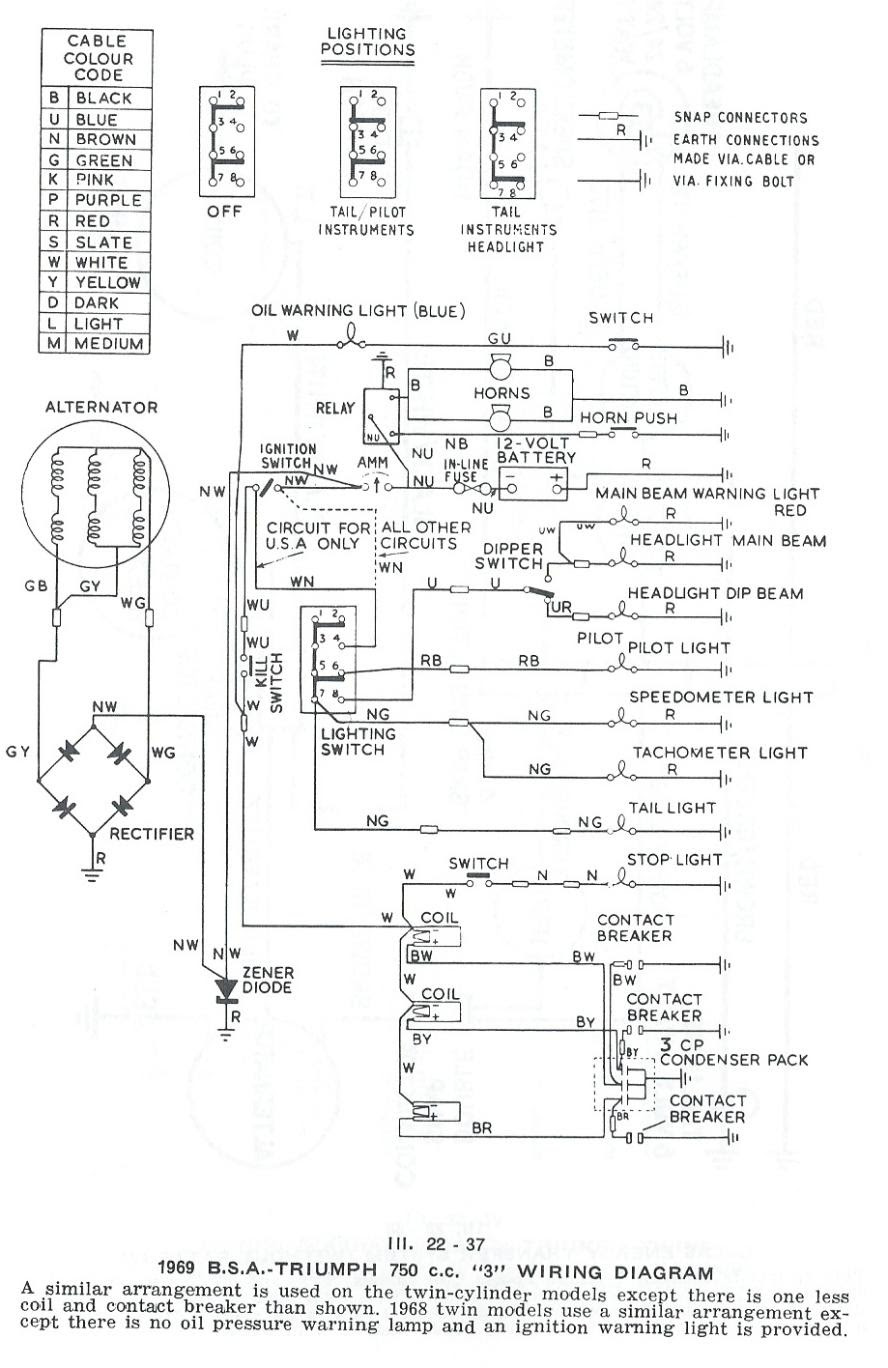 lucas ignition switch wiring diagram image 5