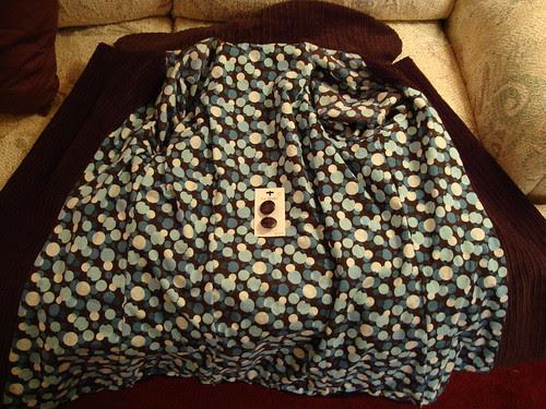 Simplicity 2508  in progress lining of jacket