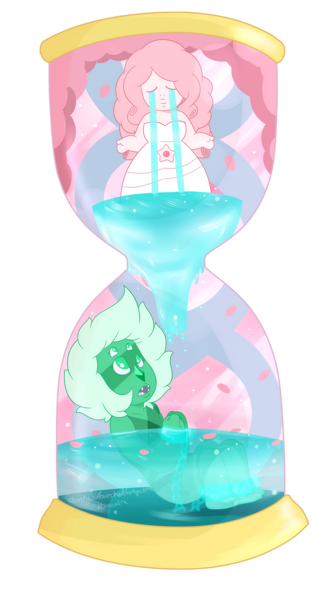 This is a VERY old piece I did - before Malachite was even separated. I didn't want to post it because I'm still not entirely happy with it, but I figured I might as well post it now before it gets...