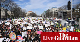 March for Our Lives: hundreds of thousands demand end to gun violence – live | US news | The Guardian