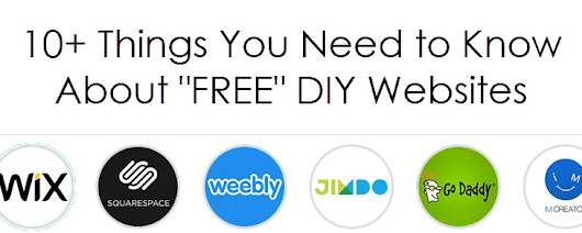 10+ Things You Need to Know About FREE DIY Websites