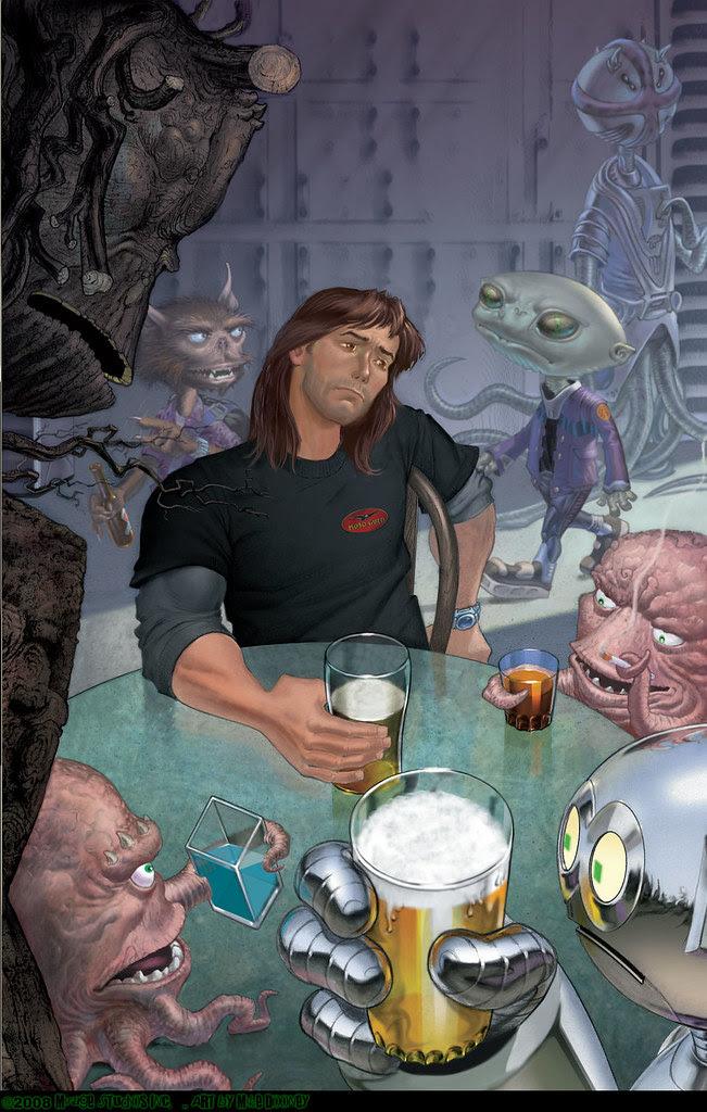 TMNT: TEENAGE MUTANT NINJA TURTLES Volume 4 # 29 ..cover art by Michael Dooney  (( April 2008 ))
