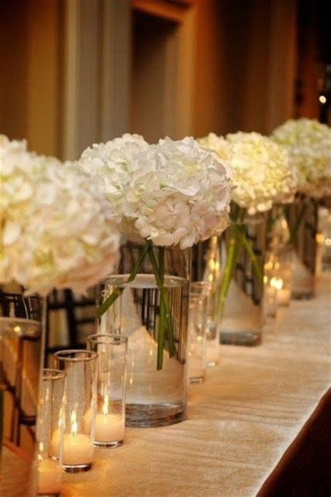 Hydrangeas are a great high impact low budget flower. You