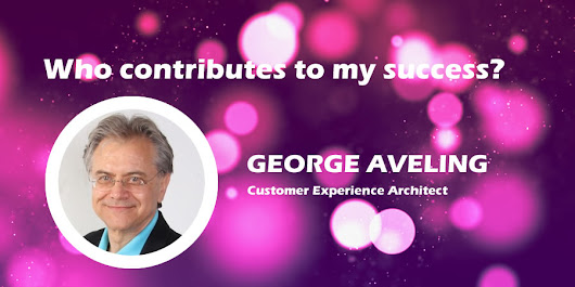 Who Contributes to My Success? by George Aveling - Vertical Distinct
