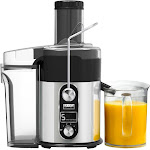 Bella - Pro Series Centrifugal Juice Extractor - Black/Stainless Steel