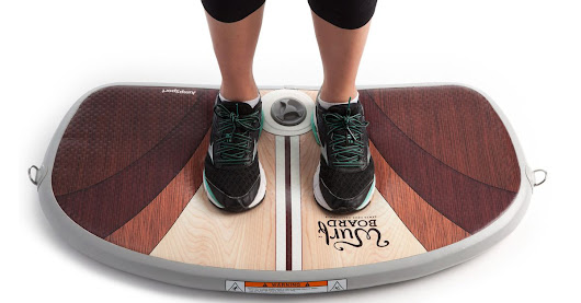 Surf at your standing desk with this new Kickstarter board