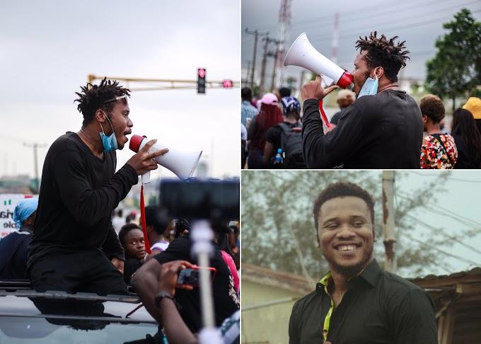 After 12 Days, Police Release #EndSARS Protester, Eromosele (Video)