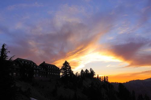 IMG_8774 Crater Lake Lodge at Sunset, Crater Lake NP