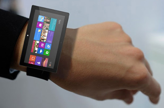 A MICROSOFT SMARTWATCH COULD APPEAR IN WEEKS