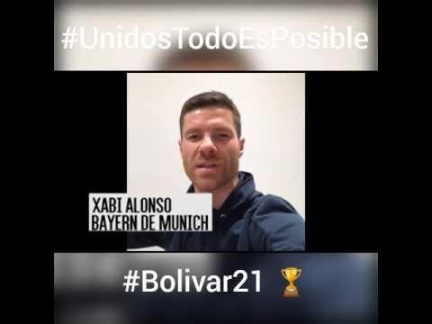 VIDEO: XABI ALONSO Y ARITZ ADURIZ, SALUDAN AL CLUB BOLÍVAR DE LA PAZ