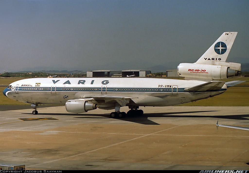 Varig in Cape Town in the 90s