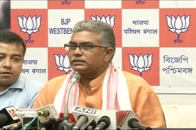 Eight TMC MLAs in Touch With Us, Says West Bengal BJP President Dilip Ghosh