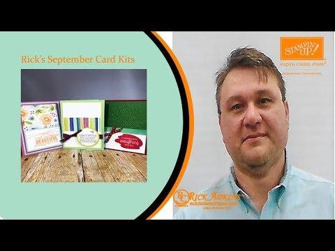Rick's September Card Kits
