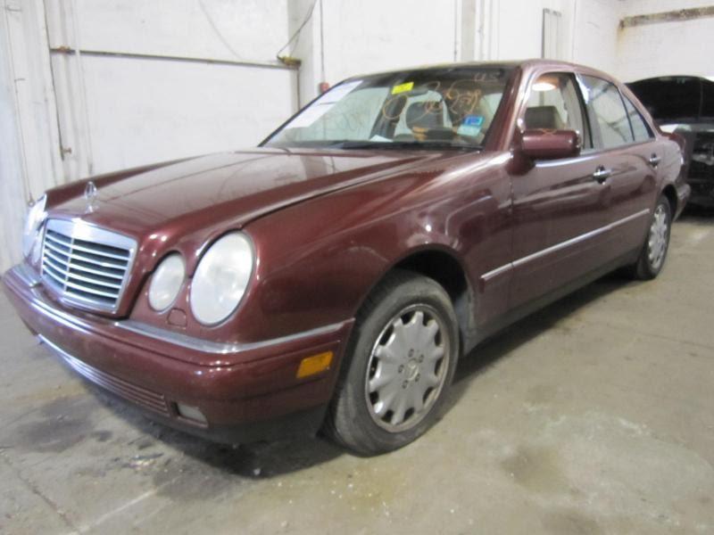 GRILL Mercedes E300D E320 E55 1996 96 1997 97 98 99 536331 ...