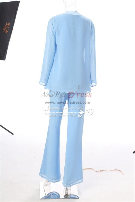 royal blue mother   bride pant suits flare trousers