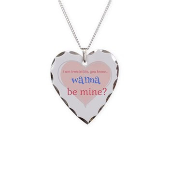 Irresistible Me Be Mine Necklace Heart Charm
