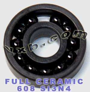 608 Full Complement Ceramic Bearing 8x22x7 Si3N4:vxb:Ball Bearing