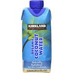 Kirkland Signature Organic Coconut Water - 12 count, 11.1 fl oz cartons