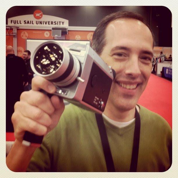 Old School Video Camera at #KODAK #sxsw
