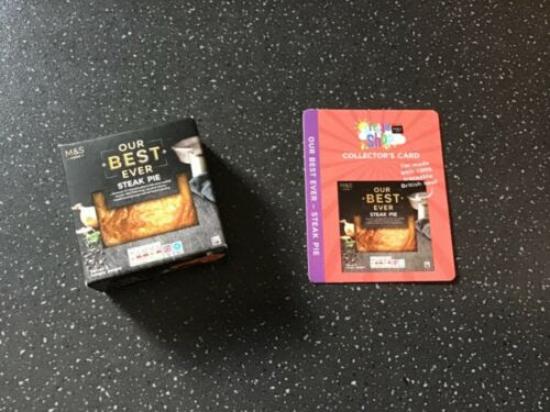 M&S LITTLE SHOP COLLECTABLES STEAK PIE Other Food ...