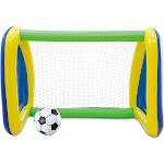Big Play Sports Jumbo Inflatable Swimming Pool Goal and Ball Soccer Sports Set