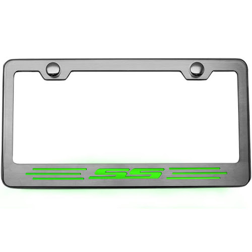 Google Express - Camaro License Plate Frame with SS Lettering ...