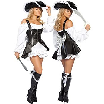 DEGUISEMENT COSTUME LINGERIE SEXY JUPE PIRATE CARNAVAL