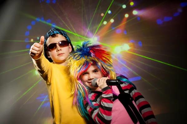 Niños de la discoteca — Foto de Stock #49418861