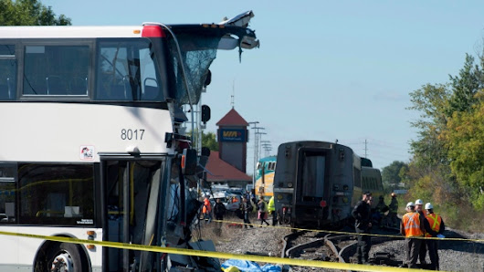 Speed, distraction among many factors in 2013 Ottawa bus-train crash