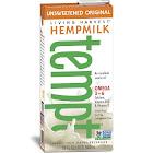 Living Harvest Tempt Hempmilk, Unsweetened Original - 32 fl oz carton
