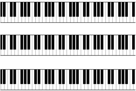 Piano Keys/Keyboard Icing Cake Side Strips   Sprinkles and