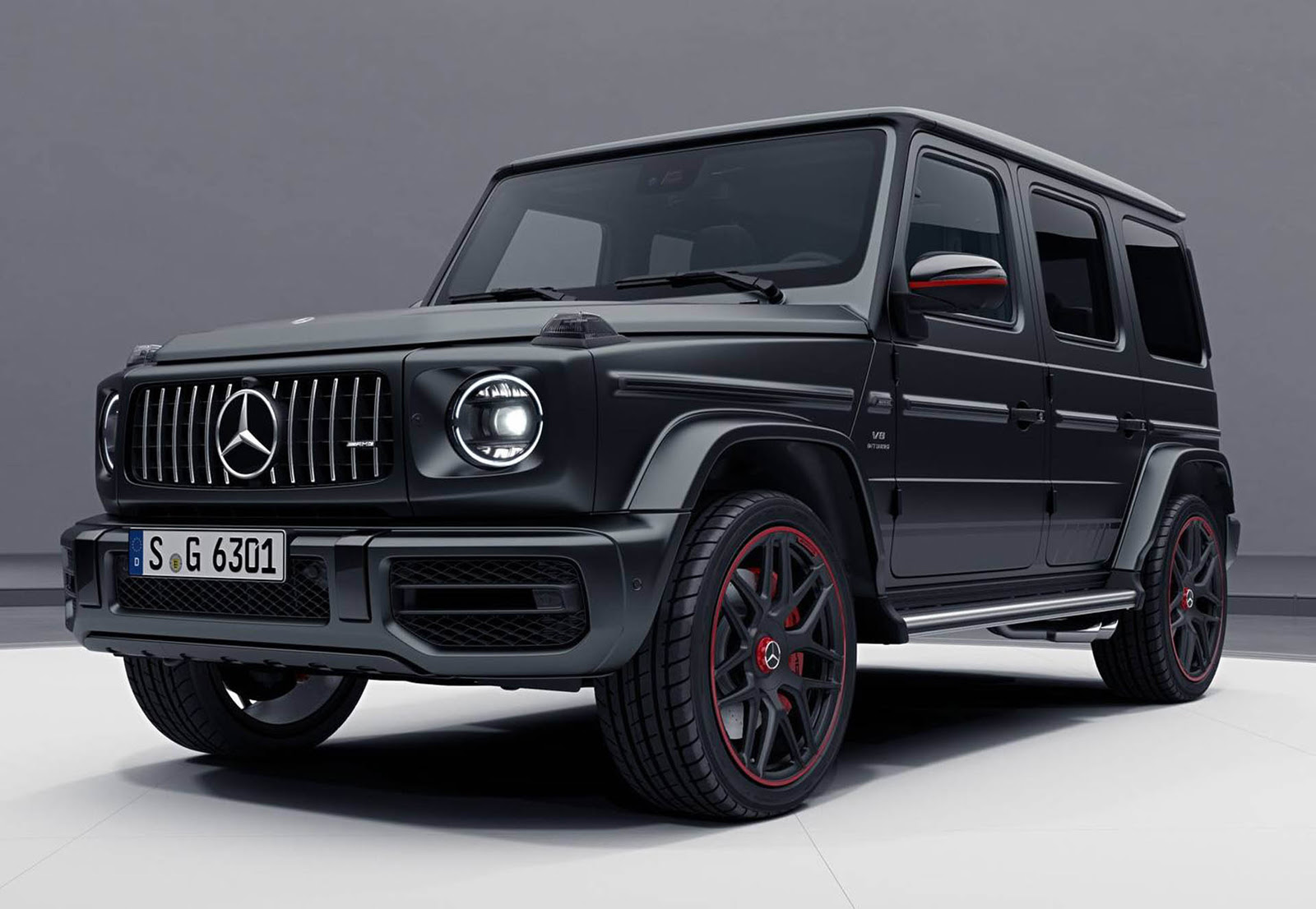 2018 Mercedes-AMG G63 Edition 1 is the Most Menacing G ...