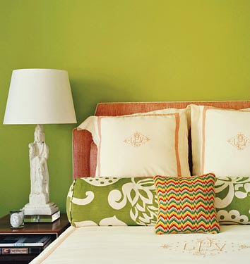 Bedroom Room - Lime Green