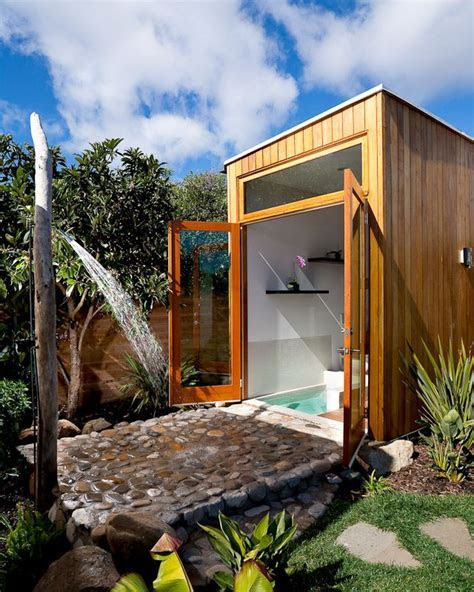 21 Wonderful Outdoor Shower and Bathroom Design Ideas   Bathroom designs, Outdoor bathrooms and