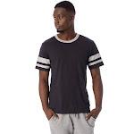 Alternative Sideline Vintage Jersey T-Shirt 2X Black & Smoke Grey , Alternative Apparel