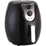 Emerald - 3.2L Analog Air Fryer - Black