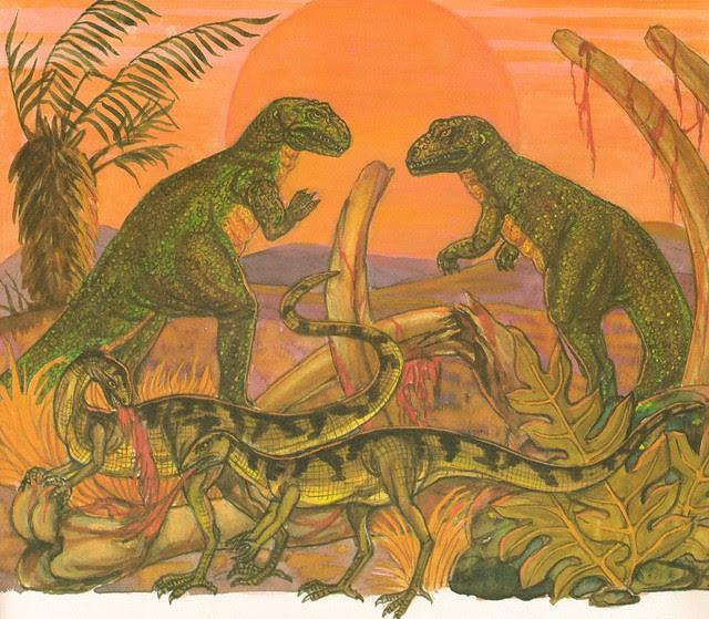 Allosaurus Feast
