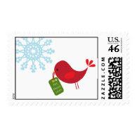 Christmas Bird - Postage