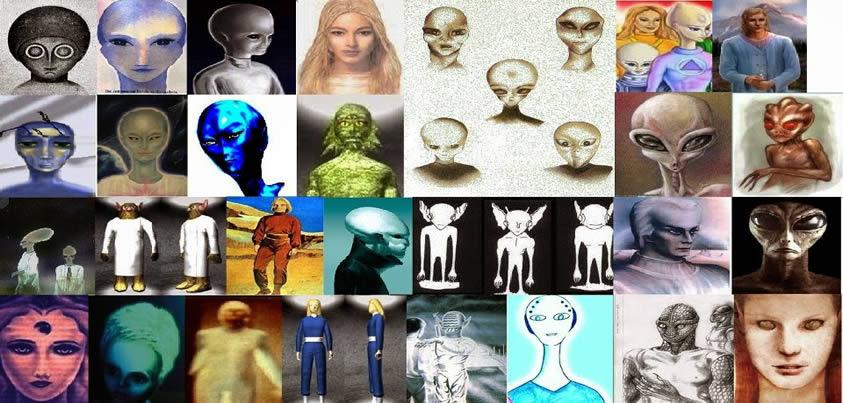 Resultado de imagen para razas extraterrestres