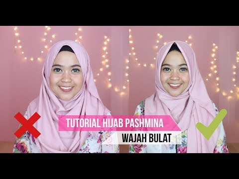 Hijab Cantik Untuk Muka Bulat